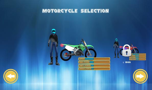 Flying Bike Rider 2017 3D screenshot 1