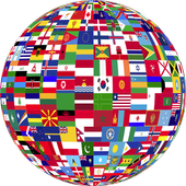 Guess the country by flag icon