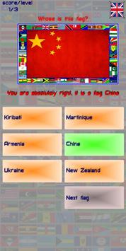 Guess the country by flag screenshot 2