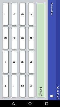 Calculadora screenshot 1