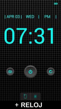 Linterna + reloj captura de pantalla 1