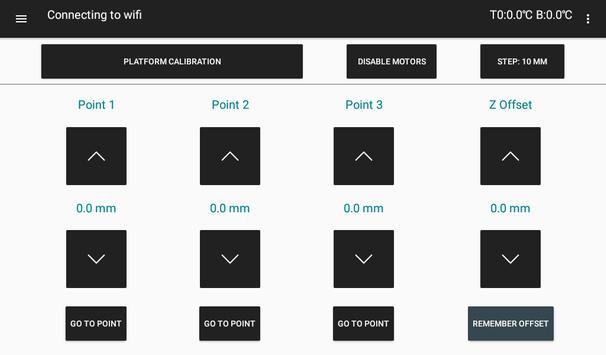 Flasty Droid  - контрольная панель для 3D Принтера screenshot 3
