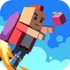 Human Fall With Jetpack icon