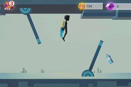 Human Fall With Jetpack screenshot 1