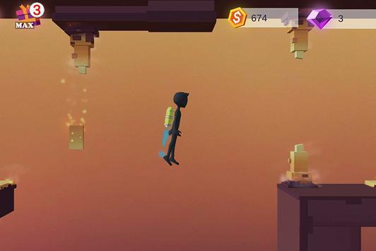 Human Fall With Jetpack screenshot 2