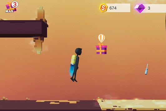 Human Fall With Jetpack screenshot 4