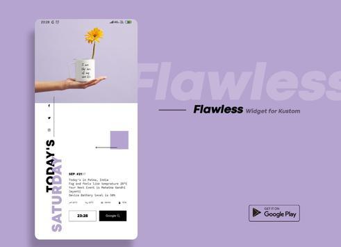 Flawless KWGT screenshot 4