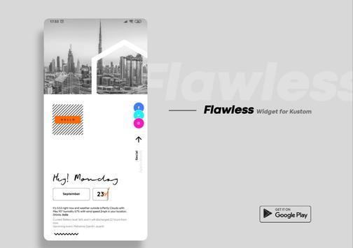 Flawless KWGT screenshot 6
