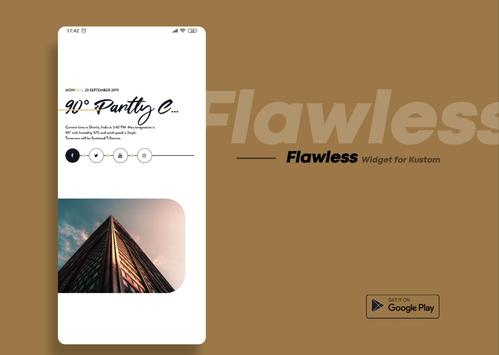 Flawless KWGT screenshot 8