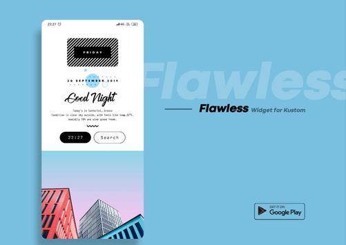 Flawless KWGT screenshot 10