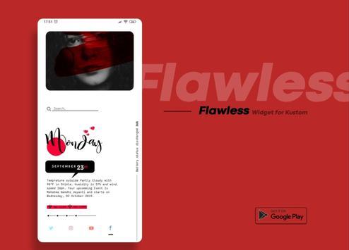 Flawless KWGT screenshot 12
