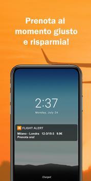 Flight Alert : risparmia sui voli ! poster