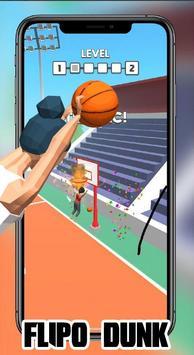 Dunk Flip io : FlipDunk io Games 2K19 screenshot 3