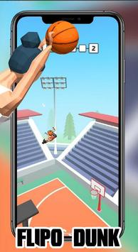 Dunk Flip io : FlipDunk io Games 2K19 poster
