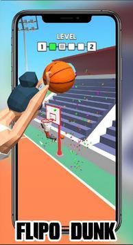 Dunk Flip io : FlipDunk io Games 2K19 screenshot 12