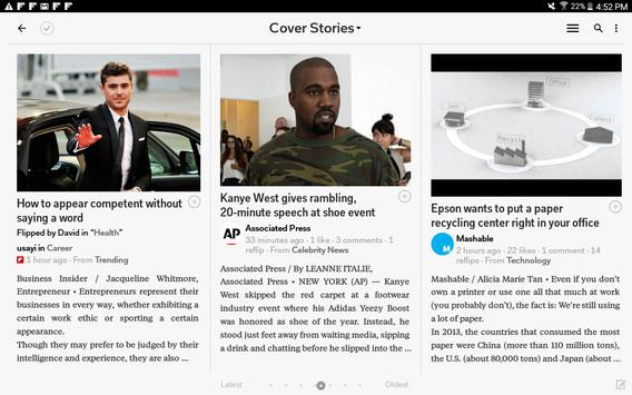 Flipboard captura de pantalla 11