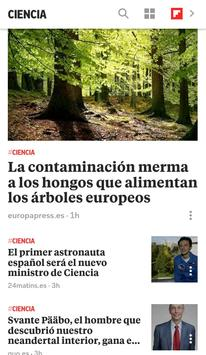 Flipboard Briefing captura de pantalla 1