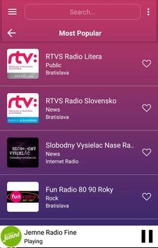 A2Z Slovakia FM Radio screenshot 2