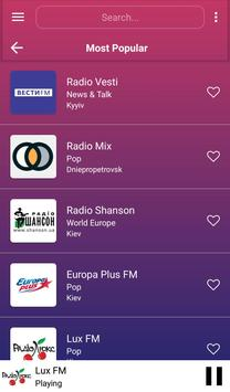 A2Z Ukraine FM Radio screenshot 1