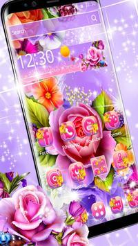 Colorful Shiny Flower Theme screenshot 4