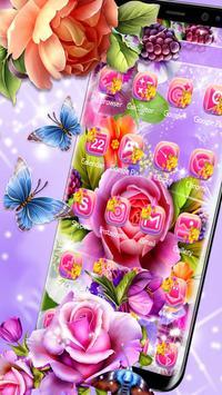 Colorful Shiny Flower Theme screenshot 9