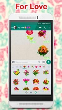 WAStickerApps Flowers screenshot 4