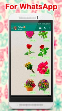 WAStickerApps Flowers poster