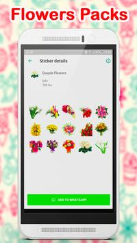 WAStickerApps Flowers screenshot 2