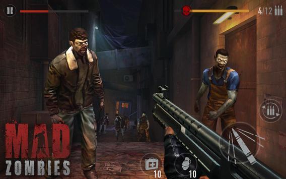 MAD ZOMBIES : Offline Zombie Games screenshot 11