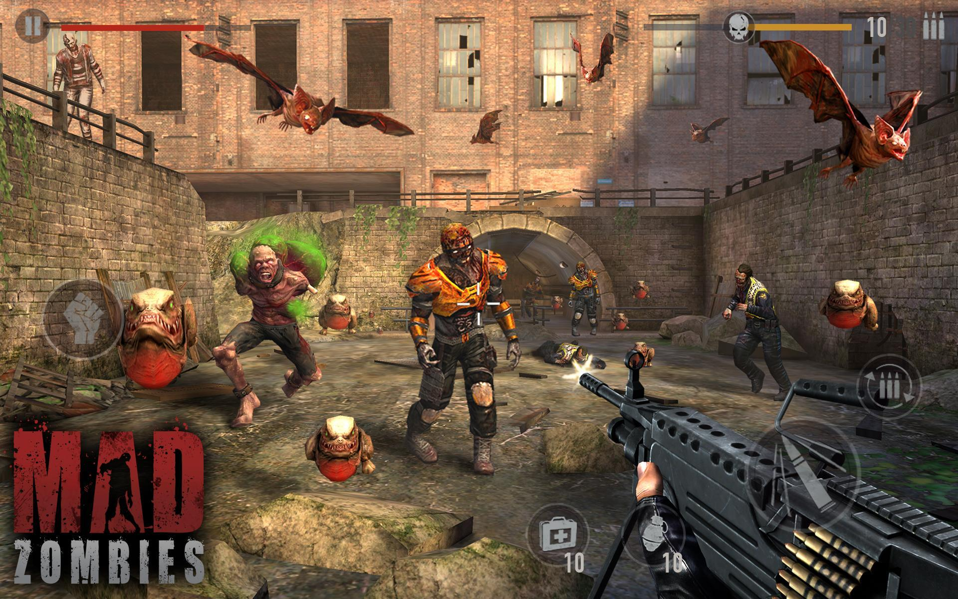 MAD ZOMBIES : Offline Zombie Games for Android - APK Download