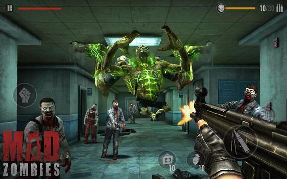 MAD ZOMBIES : Offline Zombie Games screenshot 1