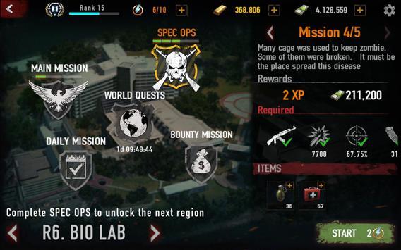 MAD ZOMBIES : Offline Zombie Games screenshot 20