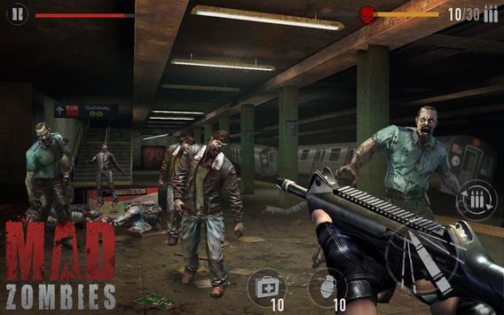MAD ZOMBIES : Offline Zombie Games screenshot 4