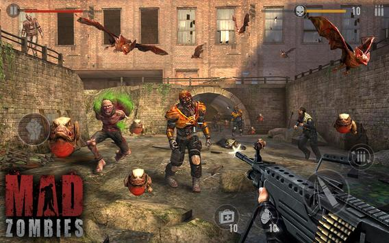 Zombie Spiele : MAD ZOMBIES Screenshot 3