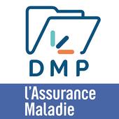 DMP : Dossier Médical Partagé आइकन