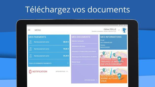 ameli, l'Assurance Maladie Ekran Görüntüsü 14