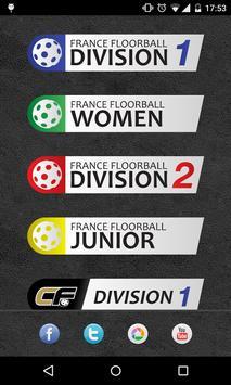 Caen Floorball poster