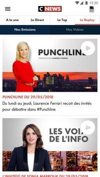 CNEWS, info vidéo en France et dans le monde capture d'écran 4
