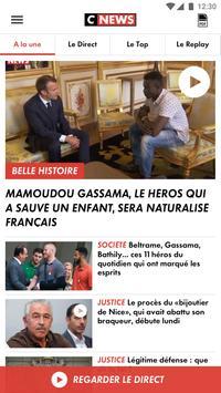 CNEWS, info vidéo en France et dans le monde Affiche