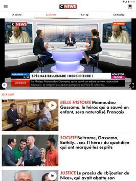 CNEWS, info vidéo en France et dans le monde capture d'écran 11
