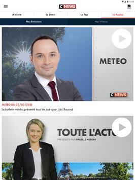 CNEWS, info vidéo en France et dans le monde capture d'écran 14