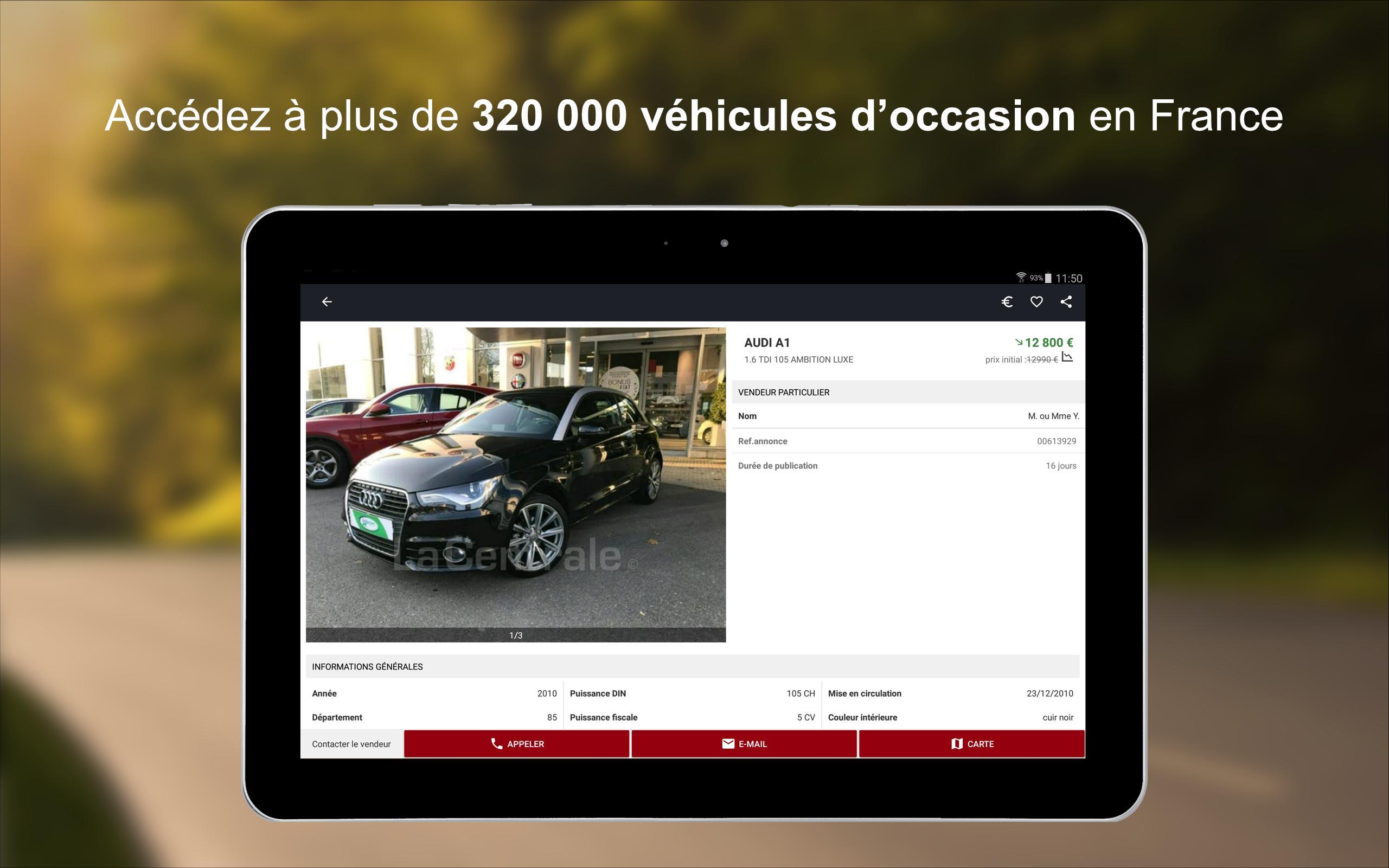 La Centrale Voiture Occasion Annonces Auto >> La Centrale For Android Apk Download