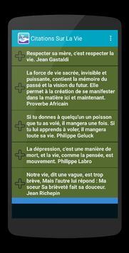 Citations Vie screenshot 3
