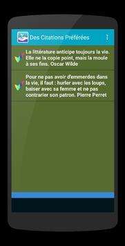 Citations Vie screenshot 4