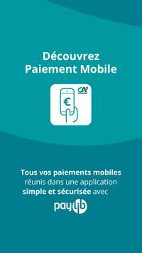 Paiement mobile CA poster