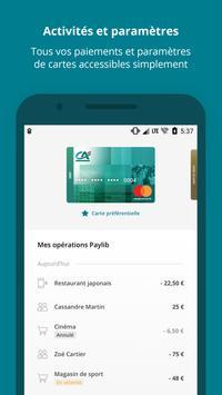 Paiement mobile CA screenshot 1