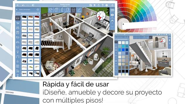 Home Design 3D captura de pantalla 6