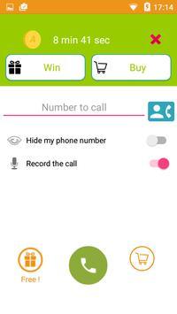 Call Voice Changer Allogag - Prank calls screenshot 3