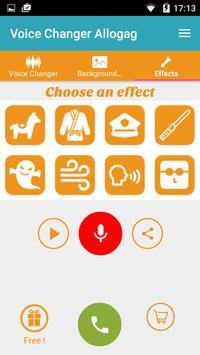 Call Voice Changer Allogag - Prank calls screenshot 2