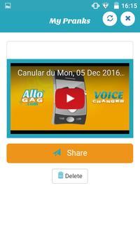 Call Voice Changer Allogag - Prank calls screenshot 4